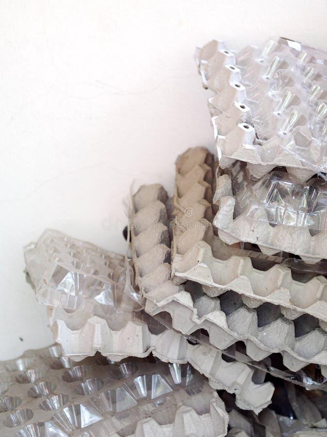 Magasin för ägg för stil för pappers- papptappning klassiskt arkivbild