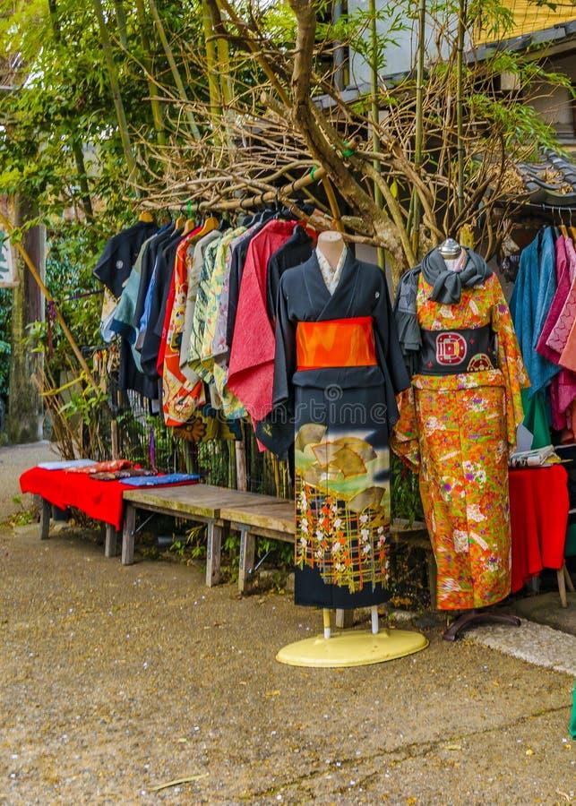 Magasin traditionnel, Kyoto, Japon image libre de droits