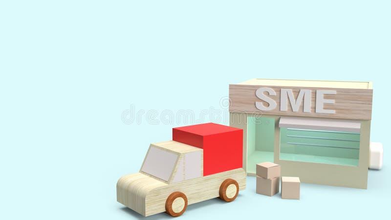 Magasinez et décochez pour transporter le rendu 3d pour un même concept illustration libre de droits