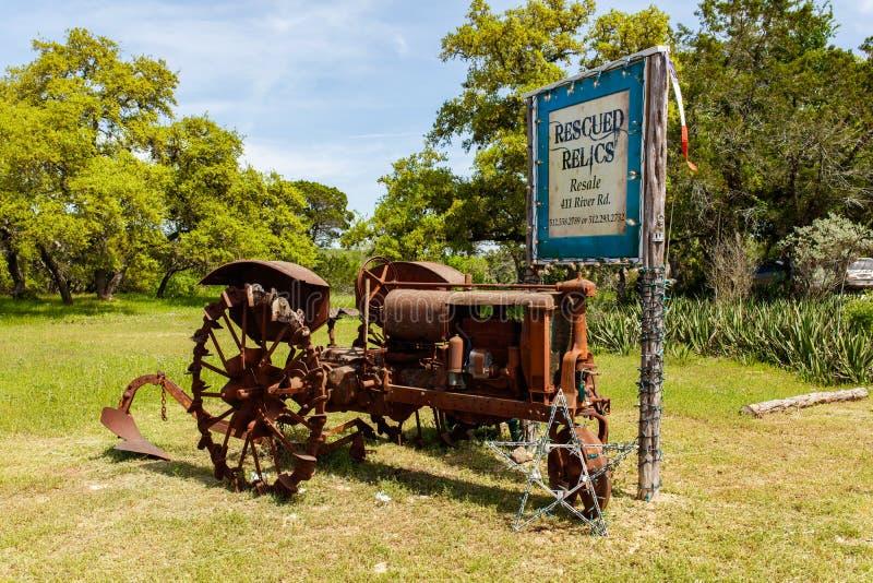 Magasins de détail de Wimberley photos libres de droits