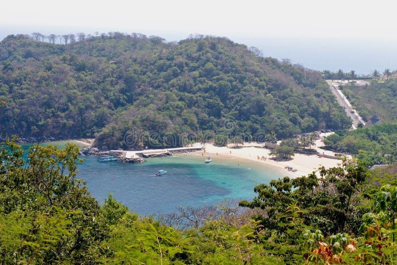 Magay Bay Huatulco Mexico royalty free stock images