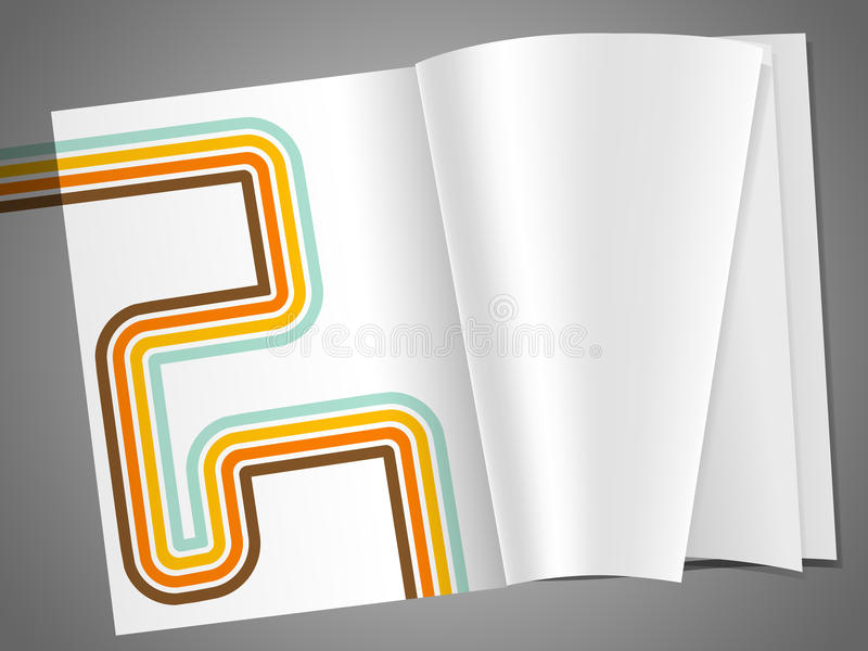 Download Magazine stock vector. Illustration of page, notebook - 18763017