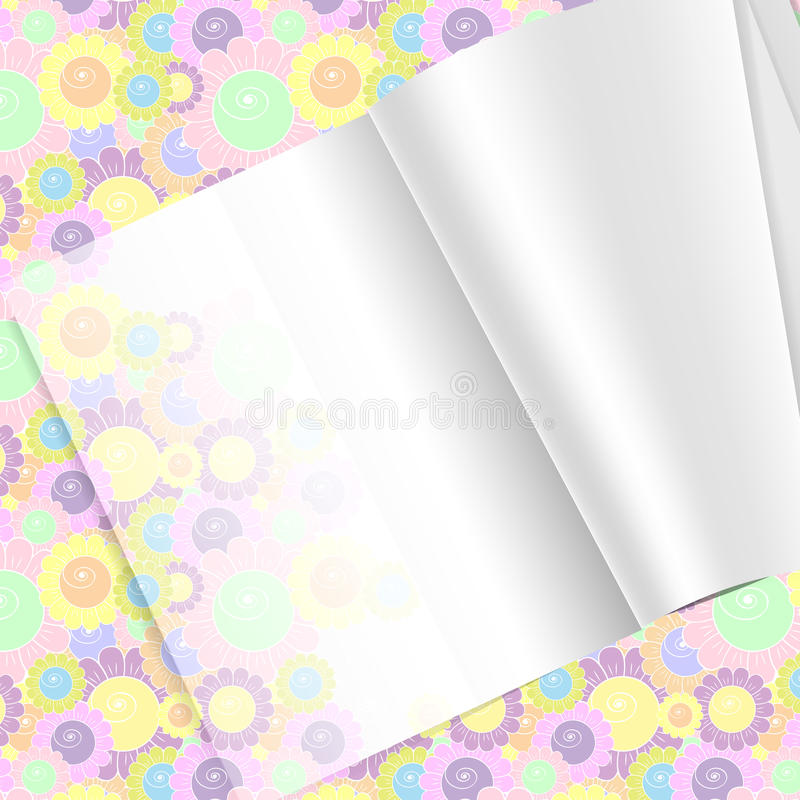 Download Magazine stock vector. Image of notebook, background - 18874533