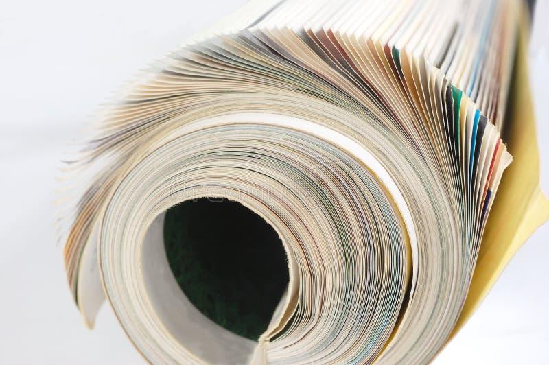 Magazine photo stock