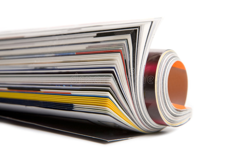 Magazine stock photography