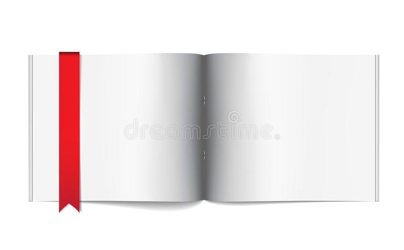 Download Magazine Blank Page Template For Design Layout Stock Vector - Image: 24188258