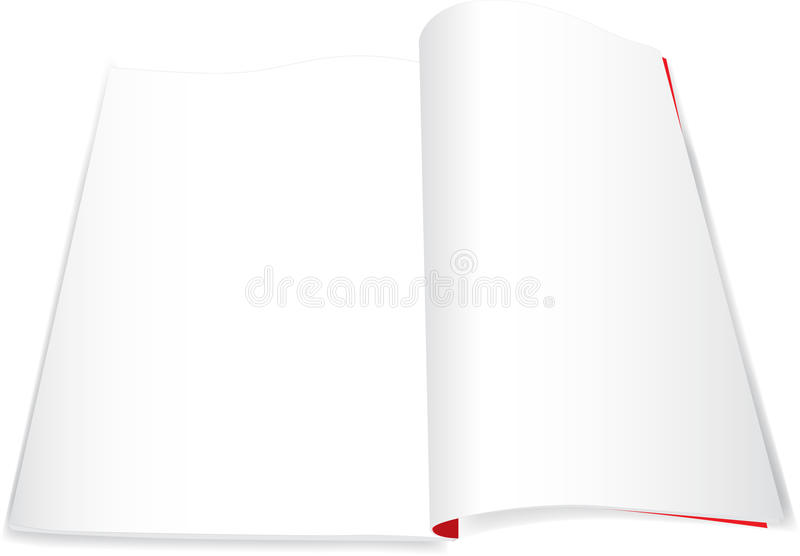 Download Magazine book notebook stock vector. Image of blank, pattern - 12008315