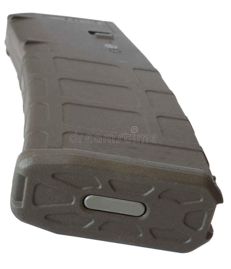 Download Magazine floor plate stock image. Image of clip, ammunition - 28604285