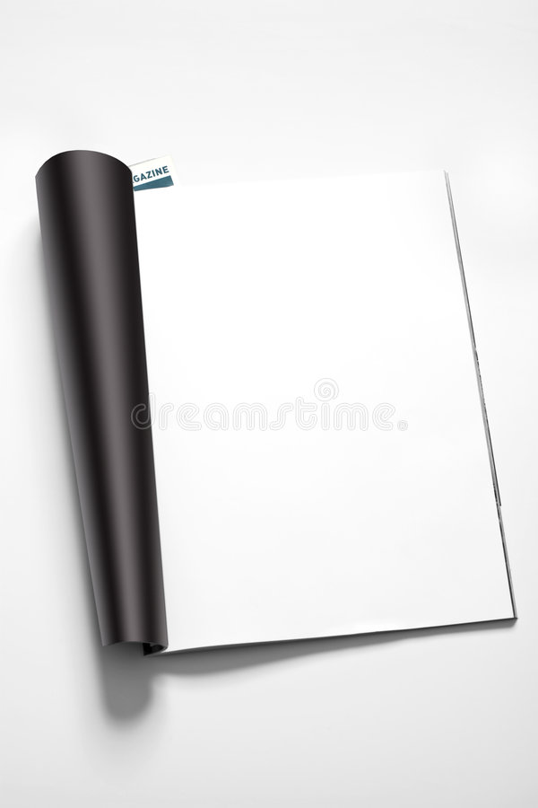 Download Magazine's page stock photo. Image of clean, diary, inserting - 8105820