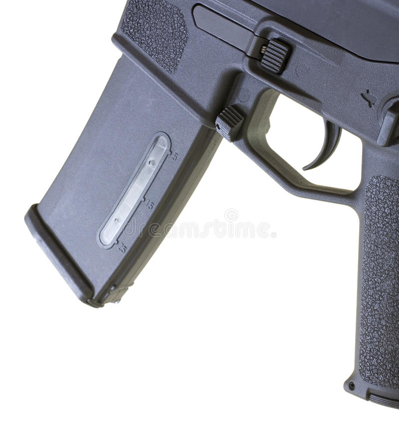 Magazine and trigger