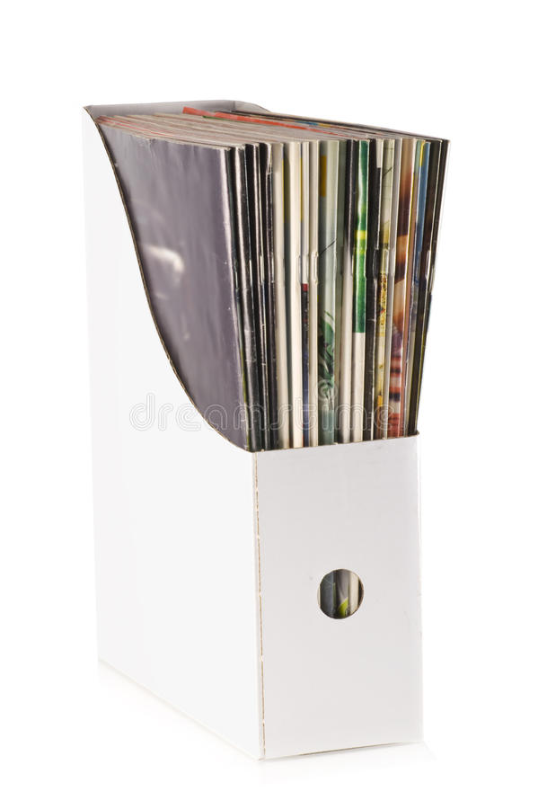 Magazines. stock images