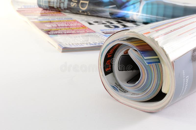 Download Magazines stock image. Image of media, journal, glossy - 18382259