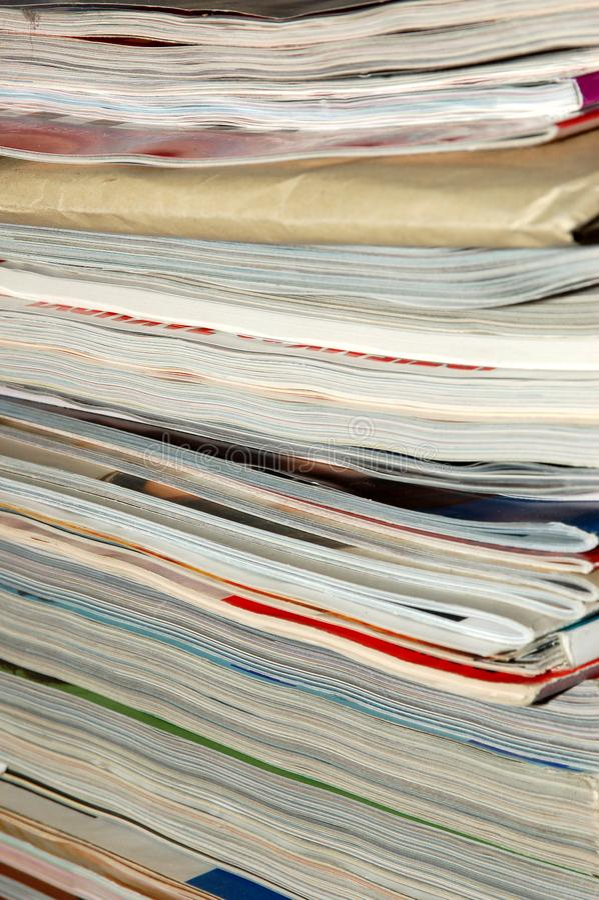 Magazines #2 stock photography