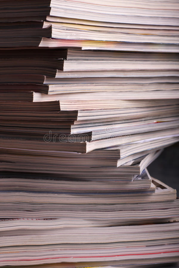 Download Magazines stock photo. Image of closed, journalism, pile - 21461194