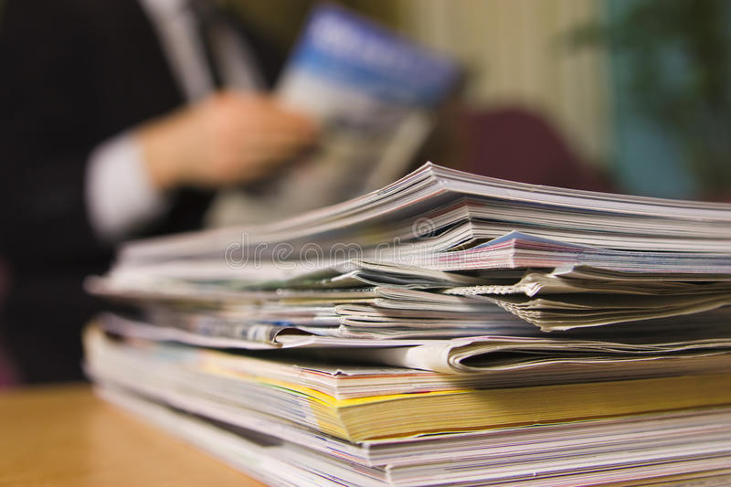 Download Magazines stock image. Image of paper, business, journal - 24628183