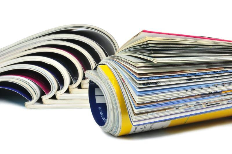 Magazines royalty free stock photos