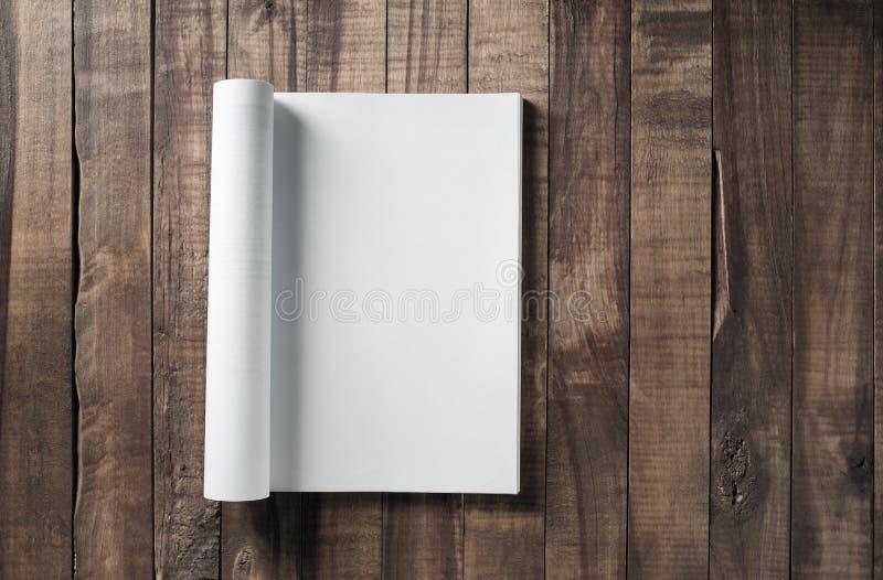 magazyn pusta strona zdjęcia stock