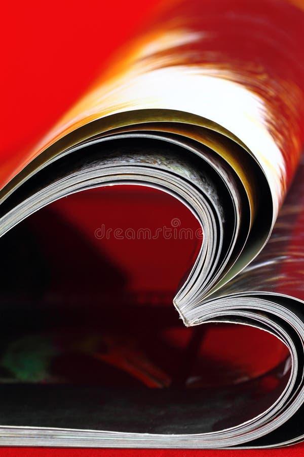 Magazynu serce zdjęcia stock