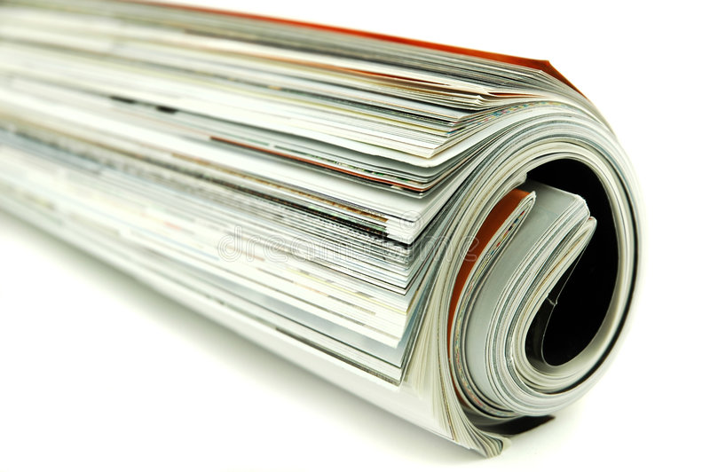 magazyny walcowane fotografia stock