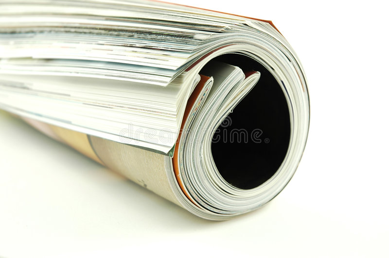 magazyny walcowane obrazy royalty free