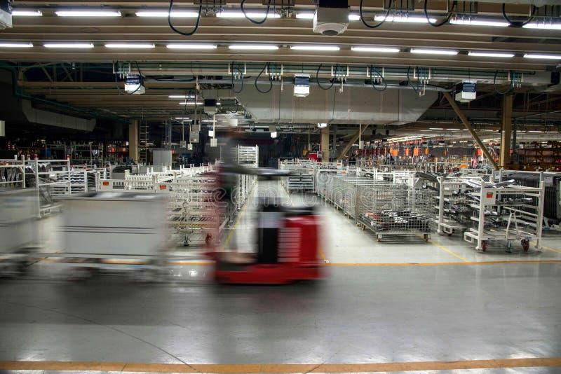 Magazzino dei ricambi auto di Chongqing Minsheng Logistics Baotou Branch immagini stock