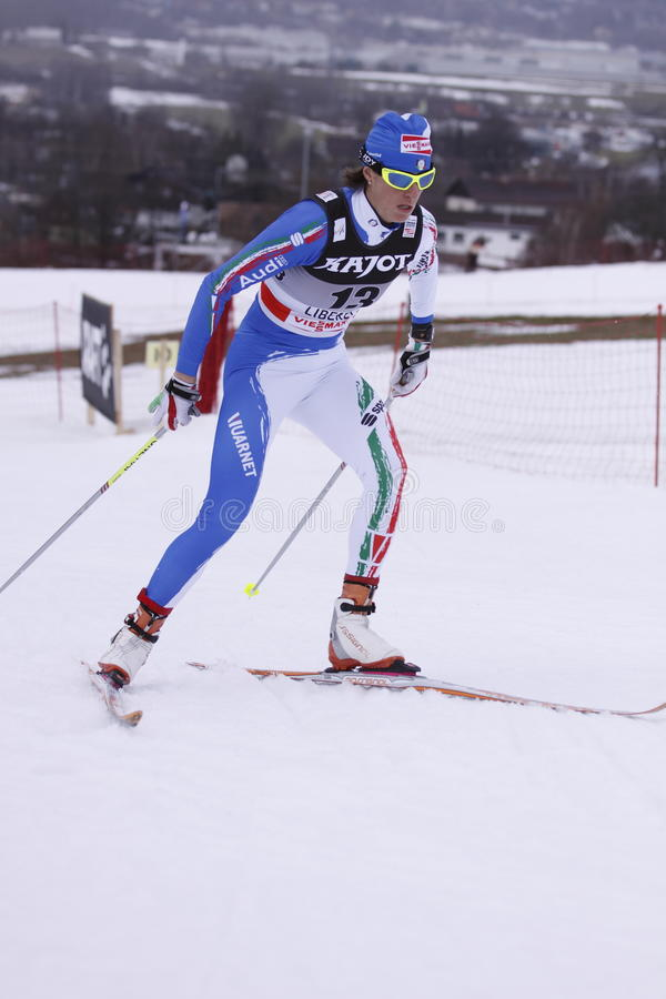 Download Magda Genuin - Cross Country Skier Editorial Stock Photo - Image: 17859268