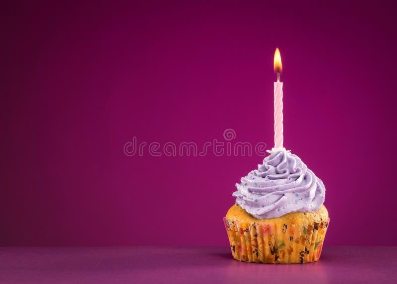 Download Magdalena del cumpleaños foto de archivo. Imagen de vela - 44853480