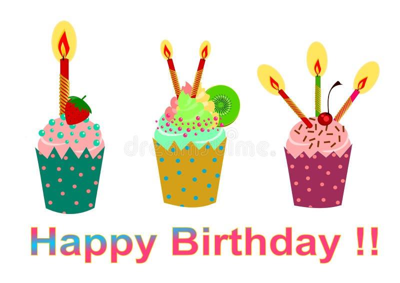 Magdalena del cumpleaños libre illustration