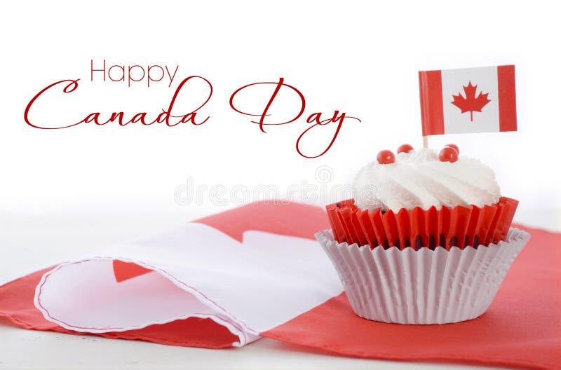 Magdalena feliz del día de Canadá foto de archivo