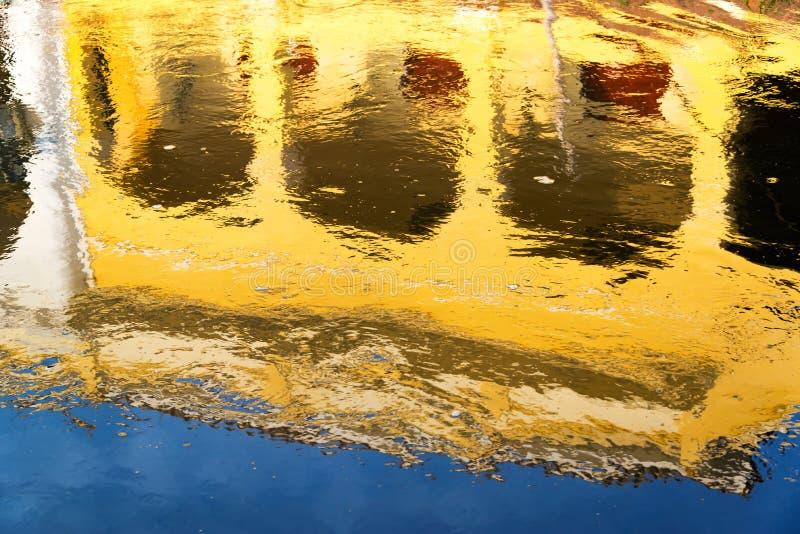 Magdalena River Reflection stockfotos