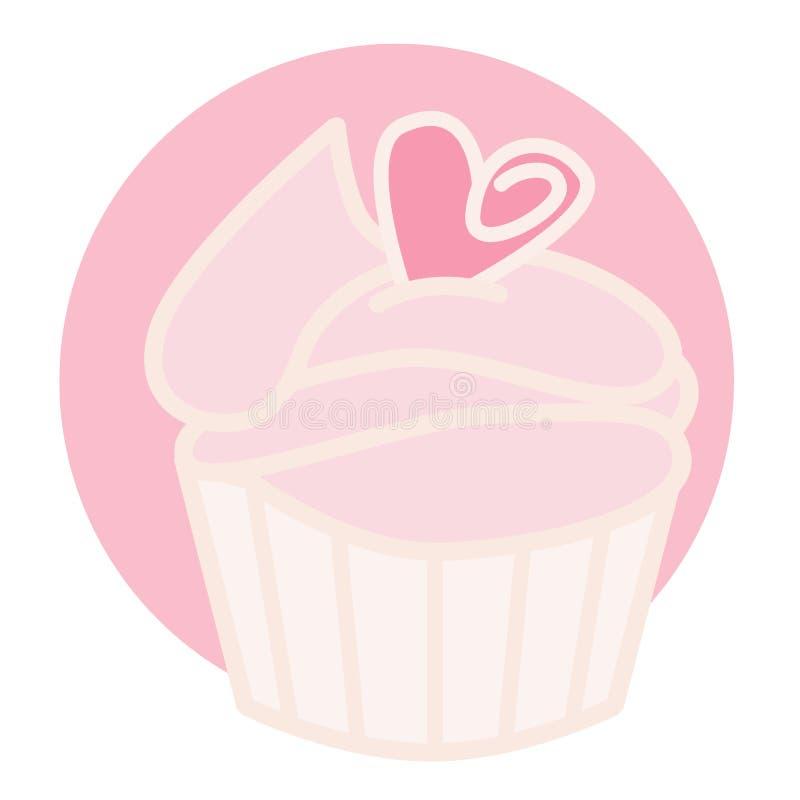 Magdalena rosada stock de ilustración