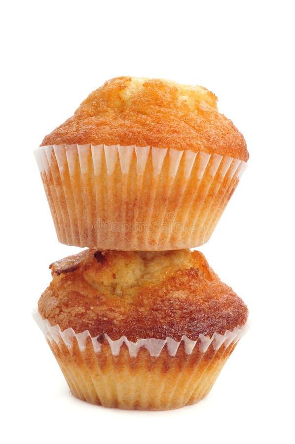 Magdalenas typisk spanjor plattar till muffin royaltyfria foton
