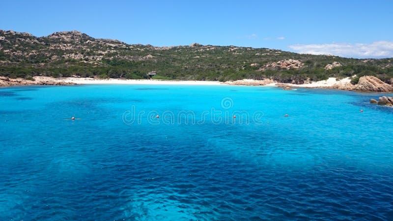 Magdalene wyspa w Sardinia zdjęcie stock