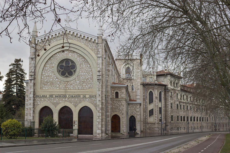 Magdalenka klasztor obraz stock