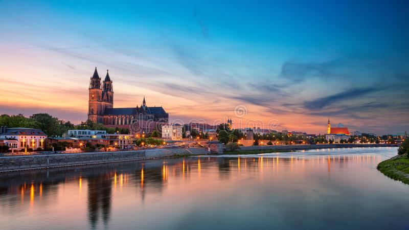 Magdeburg, Germany. stock images
