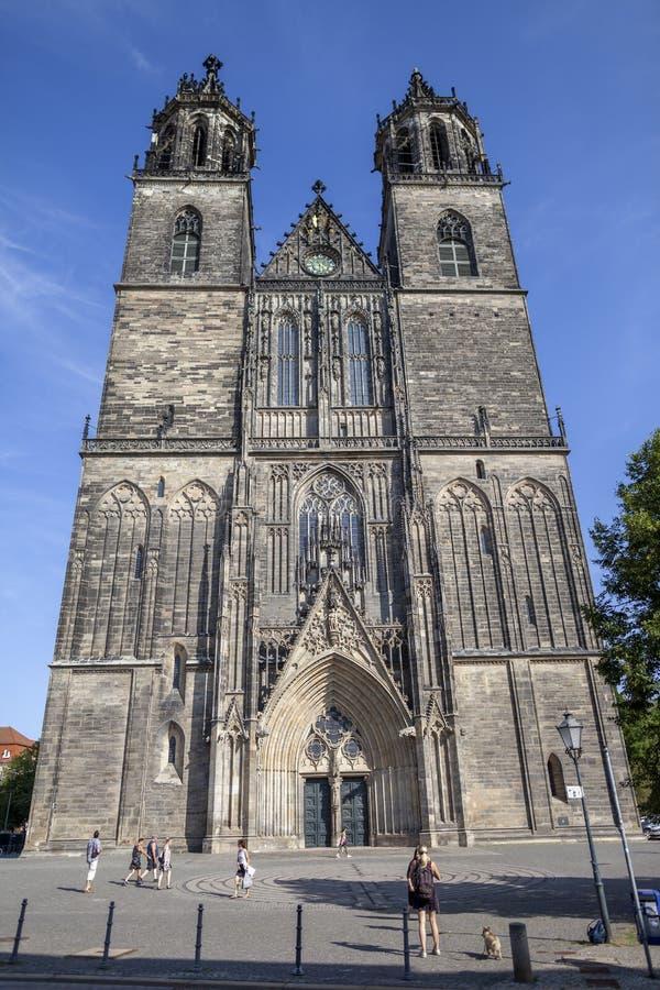 Magdeburger Dom Magdeburg Cathedral foto de archivo libre de regalías