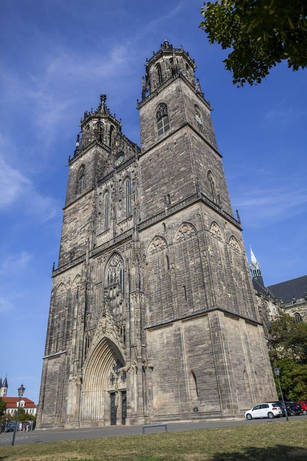 Magdeburger Dom Magdeburg Cathedral fotografía de archivo