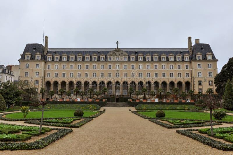 Magdelaine de Ла Fayette, Palais Свят-Georges, Ренн, Франция стоковые изображения