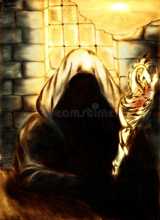 Free Mage In Golden Light Royalty Free Stock Photo - 10016905