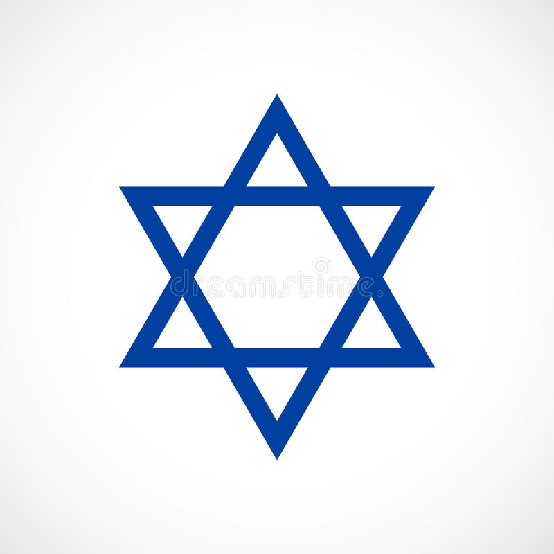 Free Magen David Vector Star Icon Royalty Free Stock Images - 97188679