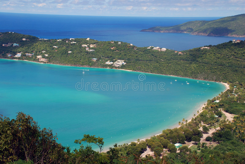 Magen's Bay Saint Thomas Virgin Islands stock photography