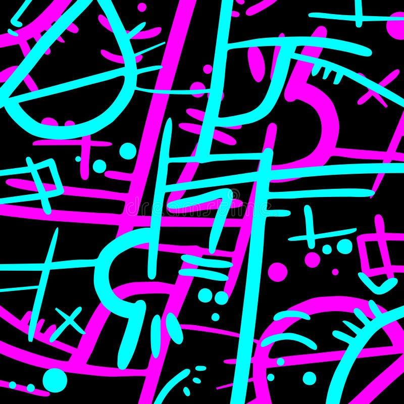 Magenta cyan искусство бесплатная иллюстрация