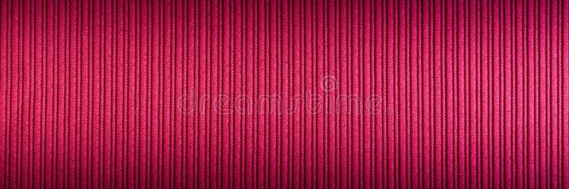Magenta decorativa do fundo, cor fúcsia, roxa, inclinação superior e mais baixo da textura listrada wallpaper Arte Projeto fotografia de stock