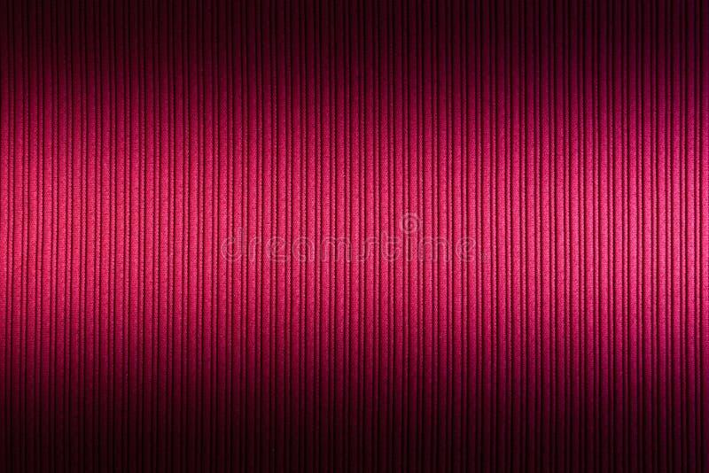 Magenta decorativa do fundo, cor f?csia, roxa, inclina??o superior e mais baixo da textura listrada wallpaper Arte Projeto imagens de stock