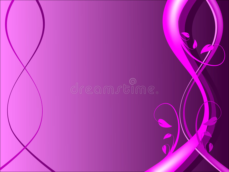 Magenta Floral Background stock photo