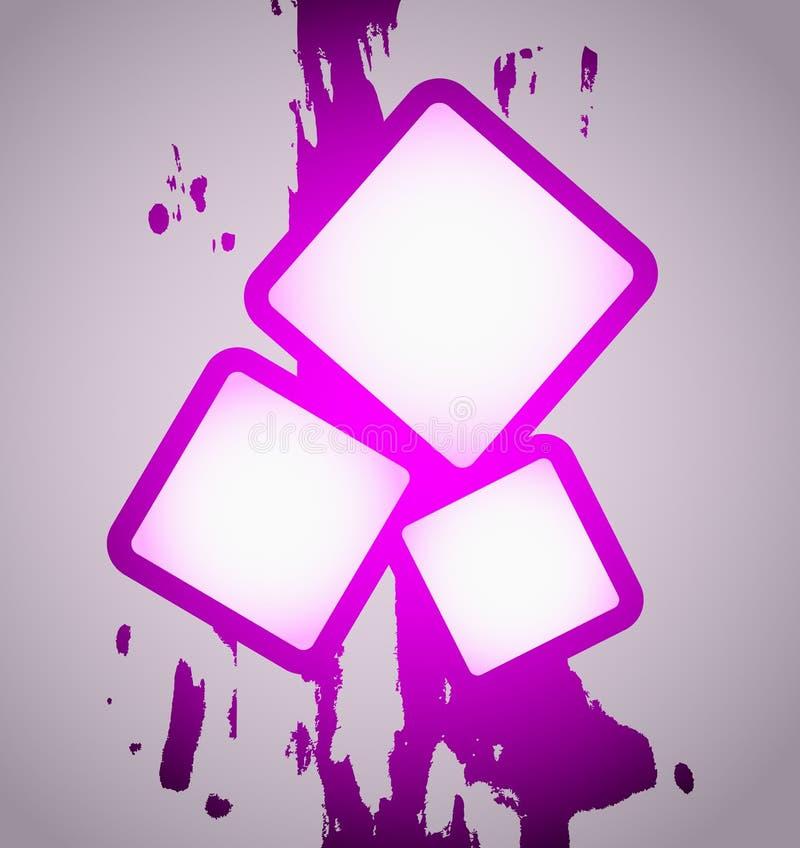Download Magenta frame art stock vector. Image of styling, original - 24410716