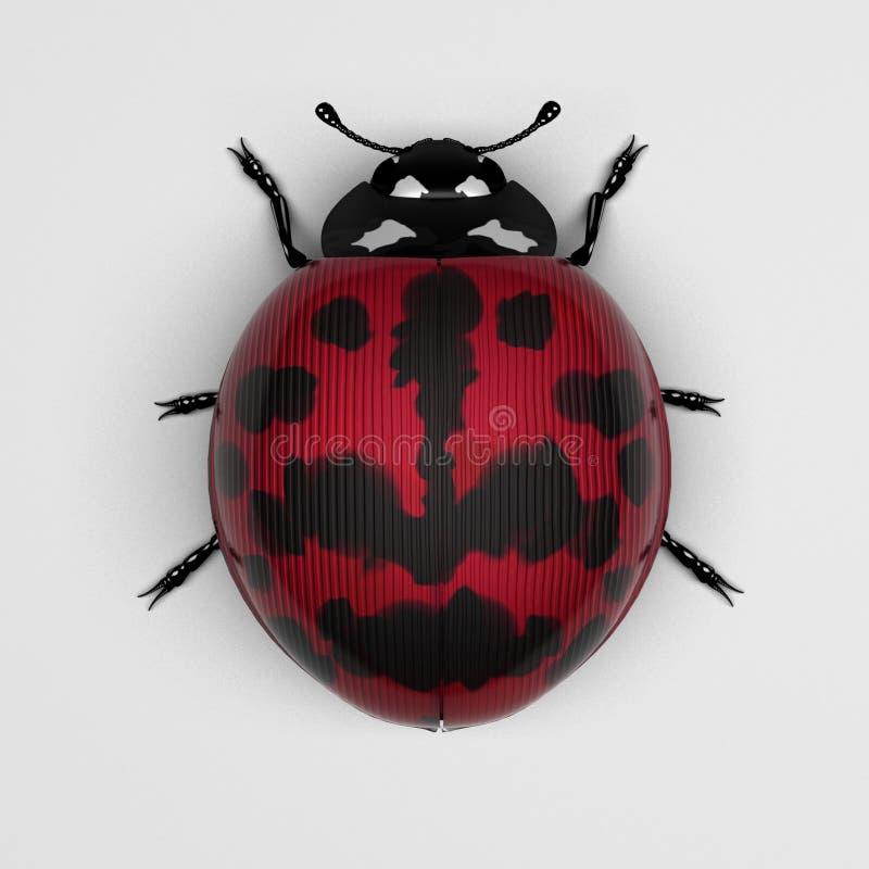 Download Magenta ladybird stock illustration. Image of tipster - 23652930