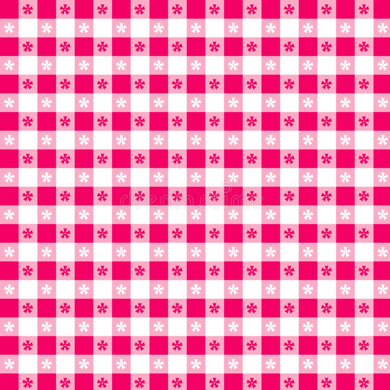 magenta pattern seamless tablecloth vektor illustrationer