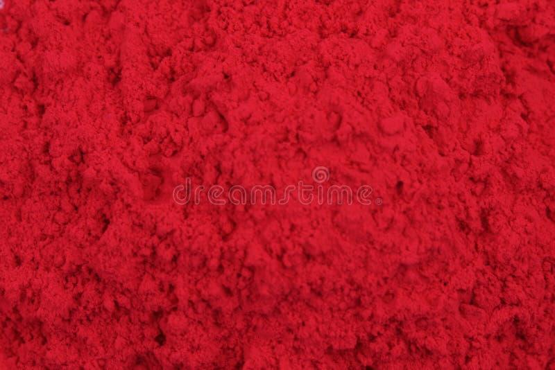 Magenta toner powder. As nice technological background stock photography
