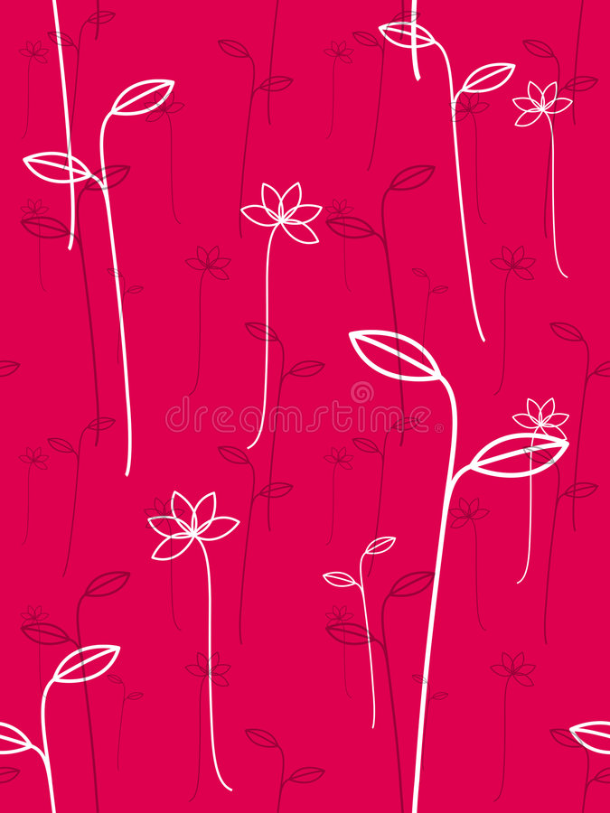 Download Magenta and white plants stock illustration. Image of plants - 6034323